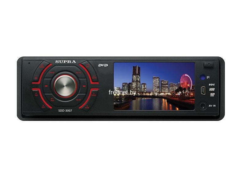 СD/DVD-магнитола Supra SDD-3007 купить в Минске с доставкой — FREENET.BY