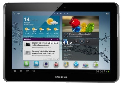 Планшет Samsung Galaxy Tab 2 10.1 16GB 3G GT-P5100 Pure White купить в Минске с доставкой — FREENET.BY