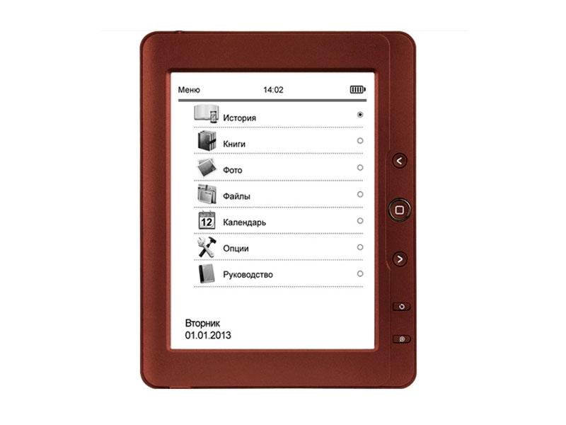 Фото Электронная книга teXet TB-126SE Red купить в интернет магазине — FREENET.BY