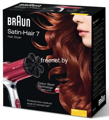 Фото Фен Braun Satin Hair 7 Colour HD 750 купить в интернет магазине — FREENET.BY