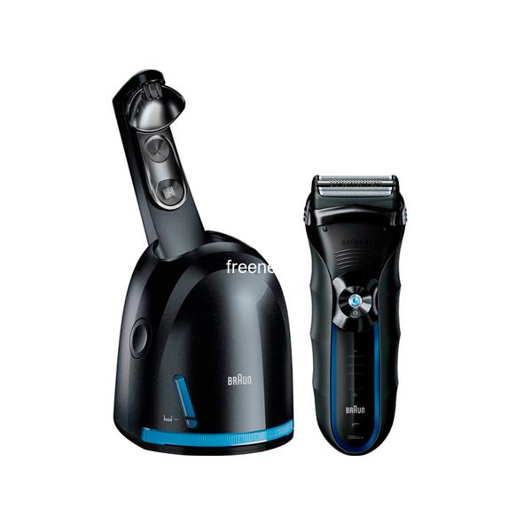 Фото Электробритва Braun Series 3 Shaver System 390cc-4 Clean & Renew купить в интернет магазине — FREENET.BY