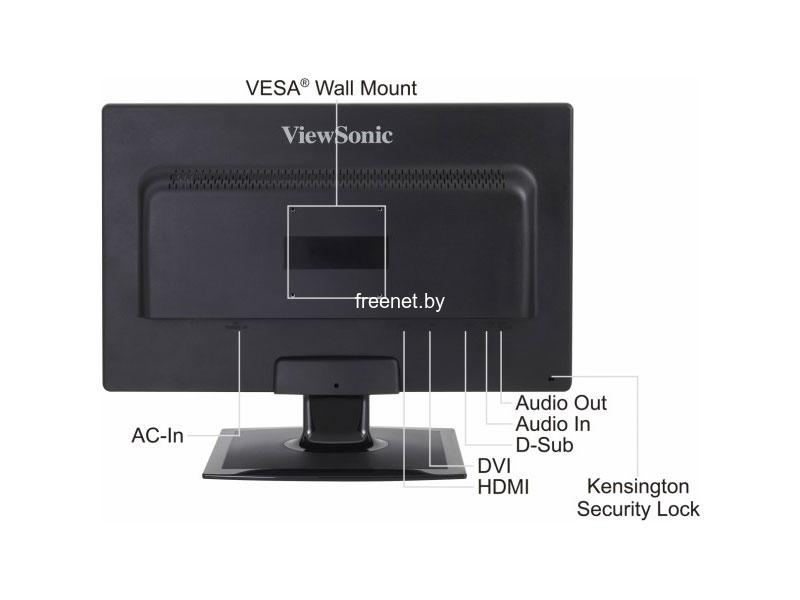 Монитор ViewSonic VX2410mh-LED купить в Минске с доставкой — FREENET.BY