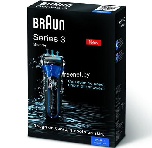 Фото Электробритва Braun Series 3 Shaver 340s-4 Wet & Dry купить в интернет магазине — FREENET.BY