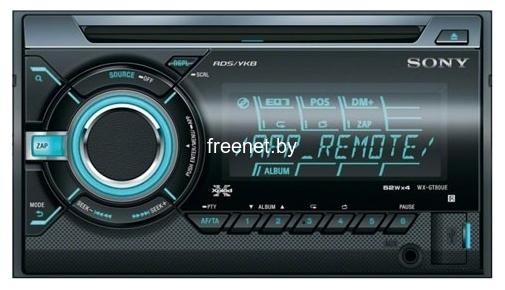 Фото CD/MP3-проигрыватель Sony WX-GT80UE купить в интернет магазине — FREENET.BY