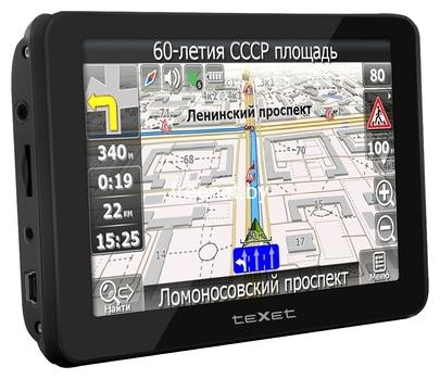 Фото GPS-навигатор teXet TN-522HD DVR купить в интернет магазине — FREENET.BY