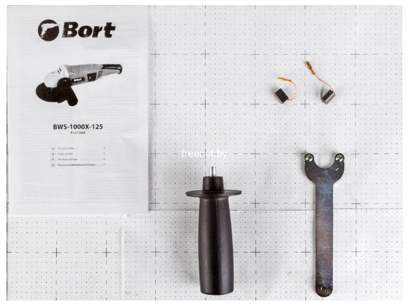 Угловые шлифмашины (болгарки) Bort BWS-1000X-125 купить в Минске по цене: 70.38 р.