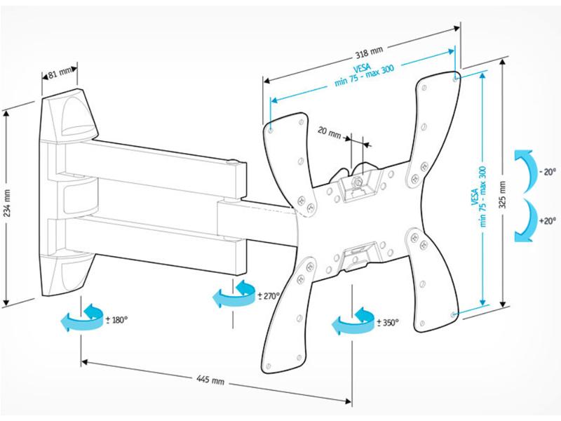 Holder LCDS-5066 купить с доставкой — FREENET.BY