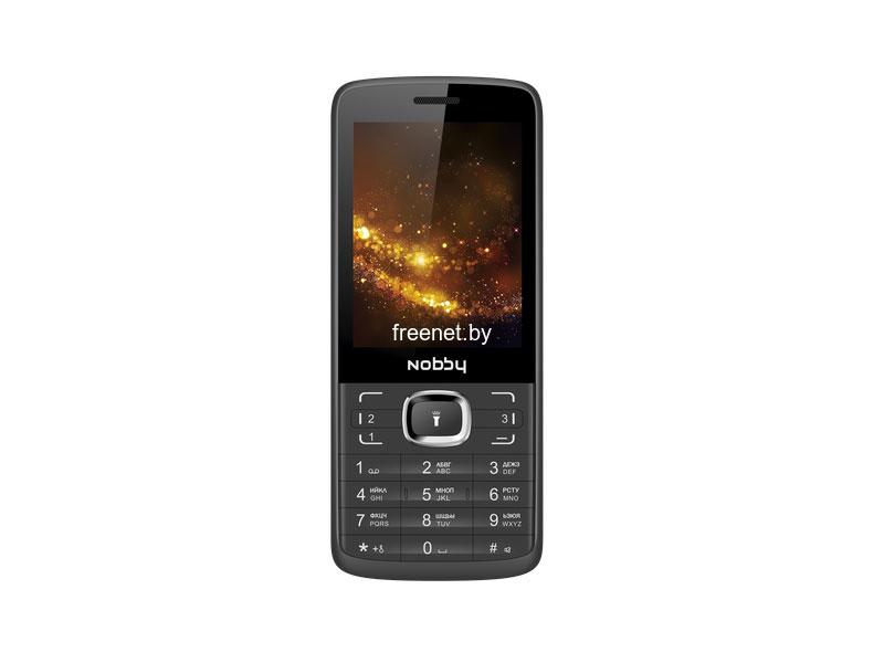 Смартфоны и кнопочные телефоны Nobby 330T Black Grey купить в Минске по цене: 39.33 р.