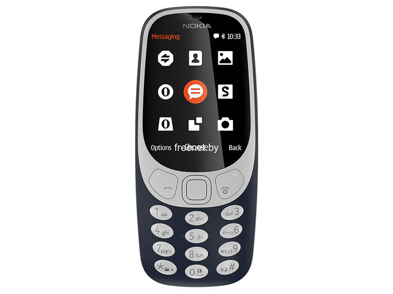 Смартфоны и кнопочные телефоны Nokia 3310 Dual SIM Dark Blue купить в Минске по цене: 109.71 р.