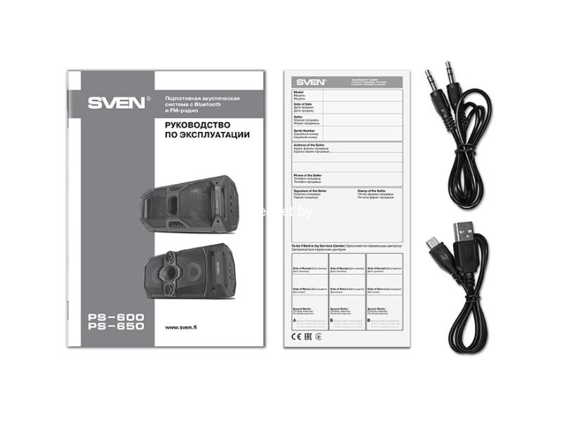 Фото SVEN PS-650 купить в интернет магазине — FREENET.BY