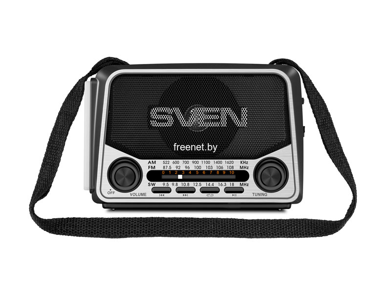 Радиоприемники SVEN SRP-525 Black купить в Минске по цене: 35.02 р.