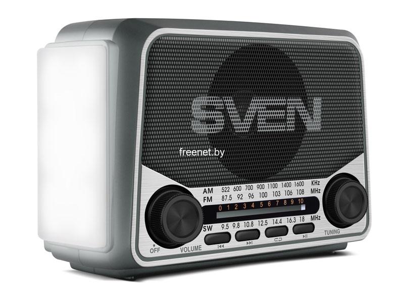 Радиоприемники SVEN SRP-525 Black купить в Минске по цене: 35.53 р.