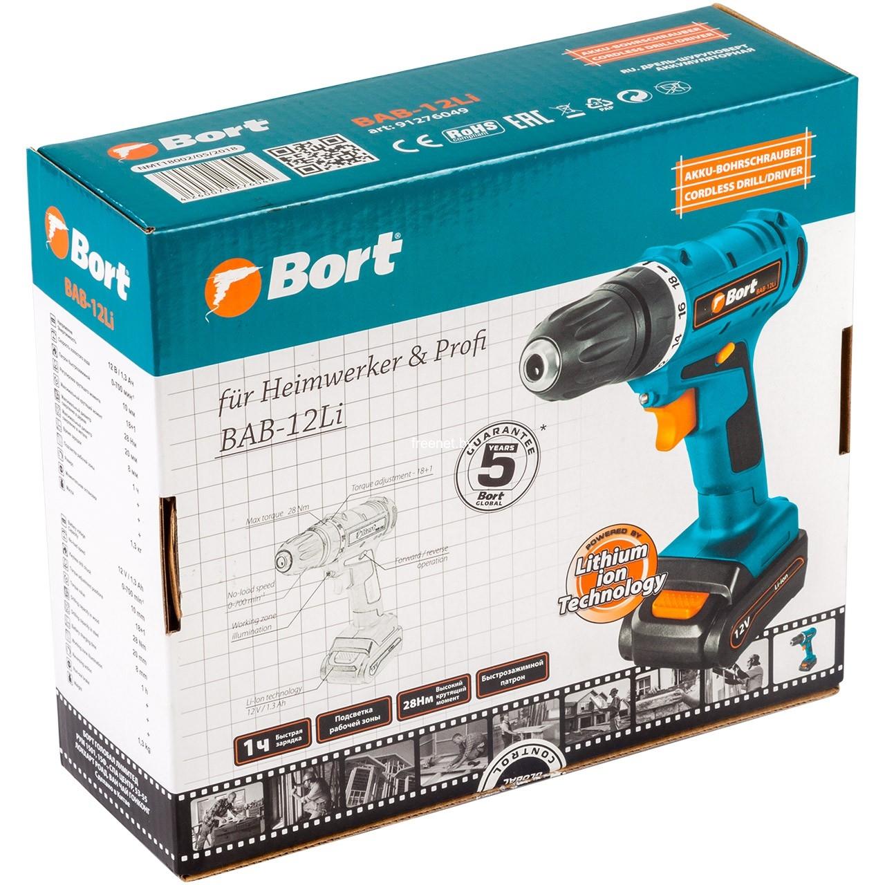 Bort BAB-12Li купить в Минске с доставкой — FREENET.BY